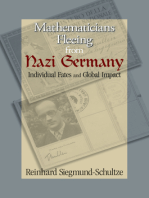 Mathematicians Fleeing from Nazi Germany