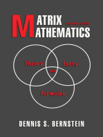Matrix Mathematics: Theory, Facts, and Formulas - Second Edition