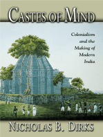 Castes of Mind: Colonialism and the Making of Modern India