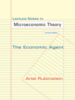 Lecture Notes in Microeconomic Theory