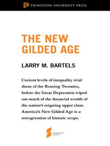 The New Gilded Age: From Unequal Democracy