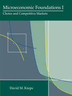 Microeconomic Foundations I: Choice and Competitive Markets