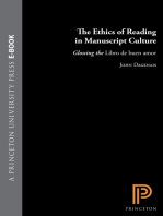 The Ethics of Reading in Manuscript Culture: Glossing the Libro de buen amor
