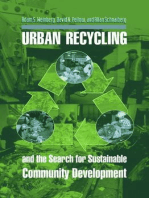 Urban Recycling and the Search for Sustainable Community Development