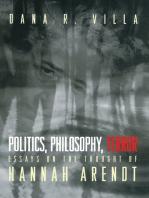 Politics, Philosophy, Terror
