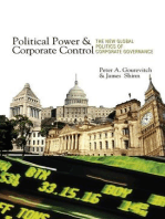 Political Power and Corporate Control: The New Global Politics of Corporate Governance