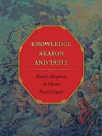 Knowledge, Reason, and Taste