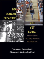 No Longer Separate, Not Yet Equal
