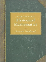How to Read Historical Mathematics