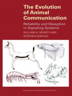 The Evolution of Animal Communication
