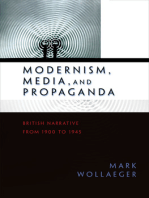 Modernism, Media, and Propaganda