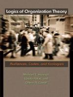 Logics of Organization Theory