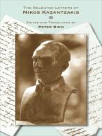 The Selected Letters of Nikos Kazantzakis