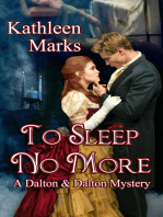 To Sleep No More (A Dalton & Dalton Mystery)