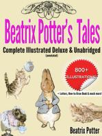 Beatrix Potter's Tales Complete Illustrated Deluxe & Unabridged