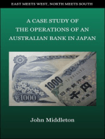 A Case Study of the Operations of an Australian Bank in Japan