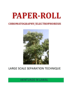 Paper-Roll Chromatography/Electrophoresis (Large Scale Separation Technique)