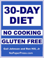30-Day Gluten Free No Cooking Diet