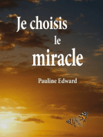 Je choisis le miracle