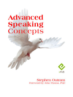 Advanced Speaking Concepts