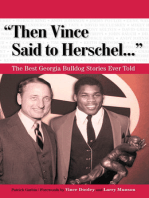 """Then Vince Said to Herschel. . ."""