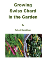 Growing Swiss Chard in the Garden