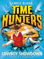 Cowboy Showdown (Time Hunters, Book 7)