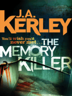 The Memory Killer (Carson Ryder, Book 11)