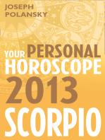 Scorpio 2013