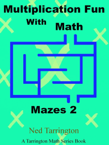 Multiplication Fun With Math Mazes 2
