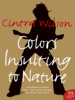 Colors Insulting to Nature