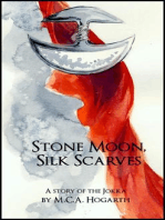 Stone Moon, Silk Scarves