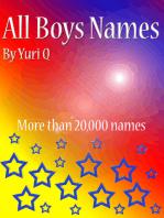 All Boys Names