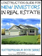 Construction Guide For New Investors in Real Estate