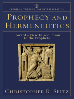 Prophecy and Hermeneutics (Studies in Theological Interpretation)
