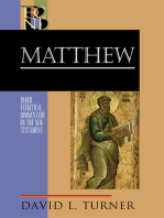 Matthew (Baker Exegetical Commentary on the New Testament)