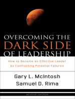 Overcoming the Dark Side of Leadership