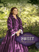 Love's Sweet Beginning (Sisters at Heart Book #3)
