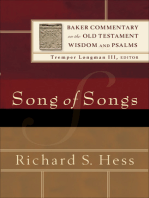 Song of Songs (Baker Commentary on the Old Testament Wisdom and Psalms)