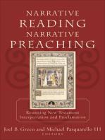 Narrative Reading, Narrative Preaching
