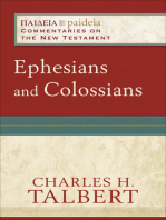 Ephesians and Colossians (Paideia