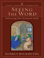 Seeing the Word (Studies in Theological Interpretation)