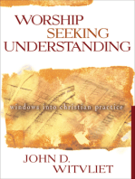 Worship Seeking Understanding