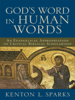 God's Word in Human Words
