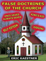False Doctrines Of The Church