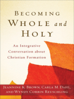 Becoming Whole and Holy