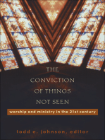 The Conviction of Things Not Seen