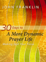 30 Days to a More Dynamic Prayer Life