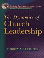 The Dynamics of Church Leadership (Ministry Dynamics for a New Century)