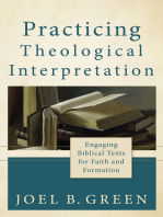 Practicing Theological Interpretation (Theological Explorations for the Church Catholic)